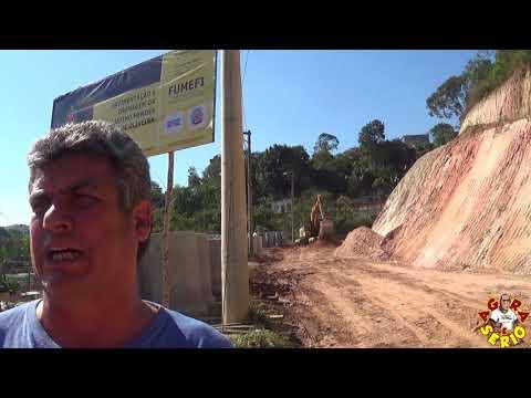 Ex Vereador Edson Garcia tira o Chapéu para o Prefeito Ayres Scorsatto na Rua Justino mendes de Oliveira na Favela do Justinos
