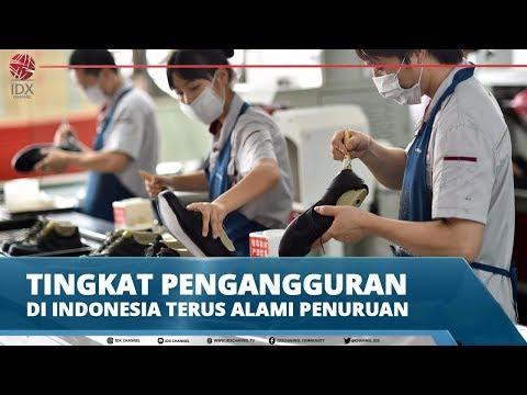 TINGKAT PENGANGGURAN DI INDONESIA TERUS ALAMI PENURUAN