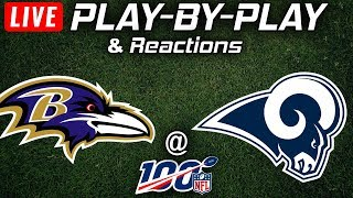 Ravens vs Rams |  Live Play-By-Play & Reactions