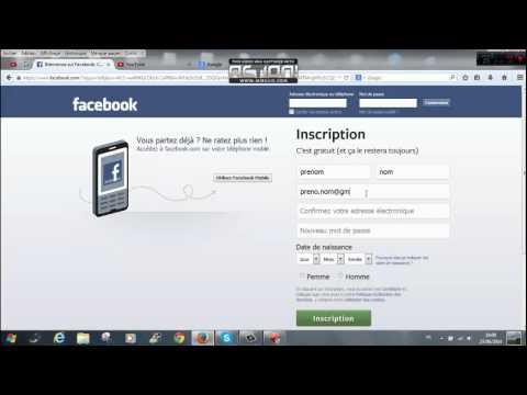 comment bien s'inscrire sur facebook