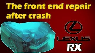 Lexus RX. Body repair. Ремонт кузова.