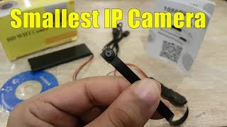Smallest WiFi Security Camera S06 1080P HD Review Unboxing By M-Tech URDU/HINDI