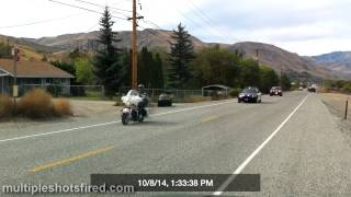 preview picture of video 'Police Pursuit- Wenatchee, WA 10-8-2014'