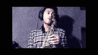 All I Ask (Adele) - Alto Saxophone Cover by Kasyfi Kalyasyena with Arif Harahap-Guitar (14 yr old)