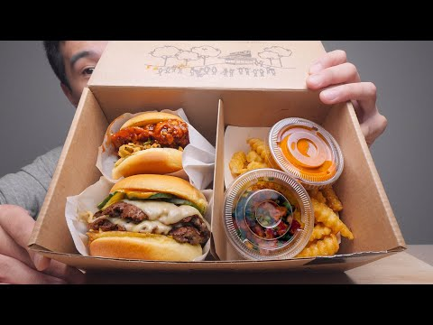 Shake Shack's Limited Time Only In Korea Gochujang Menu