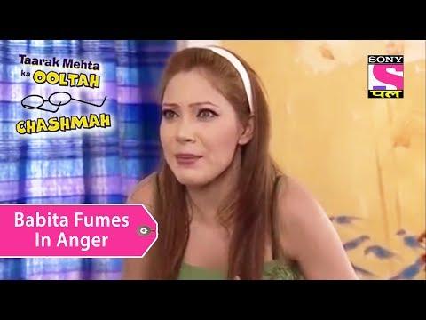 Your Favorite Character | Babita Fumes In Anger | Taarak Mehta Ka Ooltah Chashmah