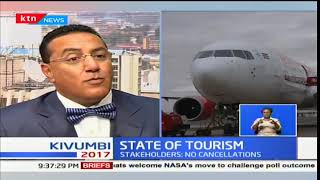 Signs of better days for the tourist sector lingering as JKIA flights are introduced