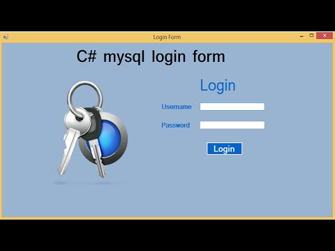 csharp mysql login form