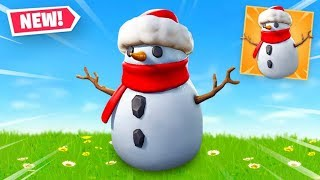 🔴 NEW SNEAKY SNOWMAN in Fortnite Battle Royale