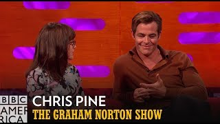 Fans React to Chris Pine's Full Monty Moment | The Graham Norton Show | BBC America