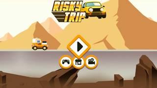 Risky Road ► МАШИНА С КРИВЫМ УПРАВЛЕНИЕМ ► ФЛЭШ ИГРЫ