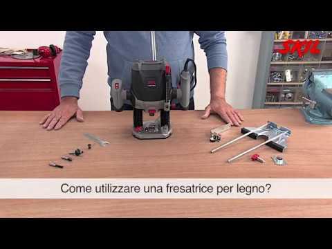Come utilizzare una fresatrice per legno?