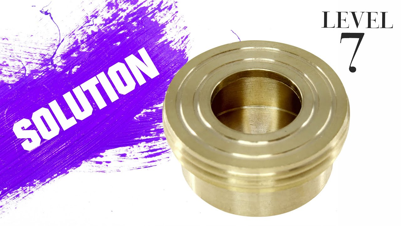 Messing Falle (Brass trap) from Jean Claude Constantin – Solution