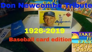 DON NEWCOMBE TRIBUTE BROOKLYN DODGERS (Baseball Card Edition)
