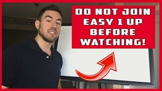 Easy 1 Up Review 2020 - Do NOT Join The Easy 1up System Before Watching!