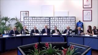 Conferenza stampa presentazione sponsorship FIR - 03/07/2018