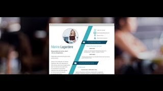 "CV Moderne ""Leader"" - by Mycvfactory"
