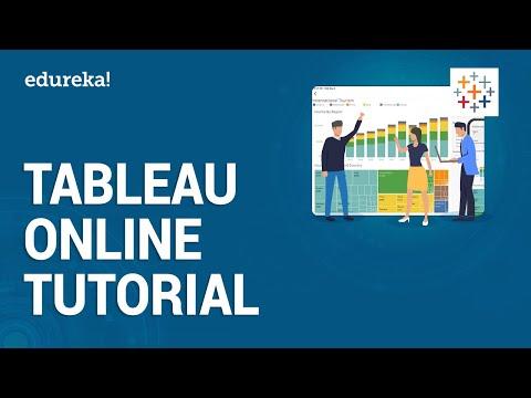Tableau Online Tutorial for Beginners   Introduction to Tableau Online   Tableau Training   Edureka