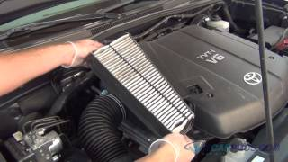 Air Filter Replacement Toyota Tacoma V6