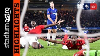 Chelsea 0 - 2 Manchester United | FA Cup | Astro SuperSport