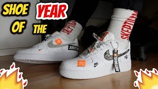 "SHOE OF THE YEAR!! Nike Air Force 1 '07 Premium ""Just Do It"" REVIEW"