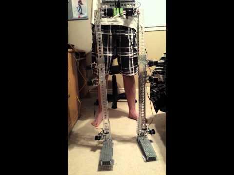 Anthropomorphic Robot Legs in motion - V1.0