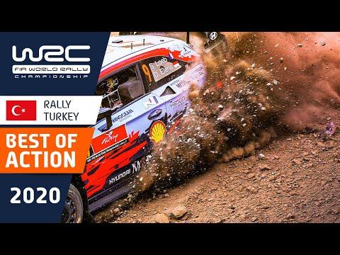 WRC ラリー・ターキーのベストアクションだけを集めたダイジェスト映像