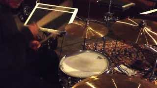 4168Session Drummer CREDITS: = Carlos Santana, Billy Joel Aretha Franklin, Cool & the Gang, The Tubes