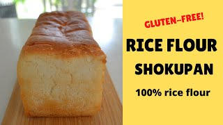 HOW TO MAKE ★RICE FLOUR SHOKUPAN★GLUTEN-FREE BREAD RECIPE (EP200)
