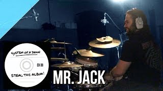 "System of a Down - ""Mr. Jack"" drum cover by Allan Heppner"