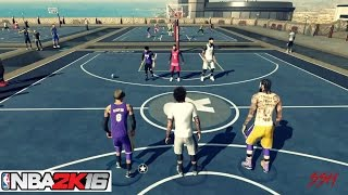 NBA 2K16| Prettyboyfredo + StaxMontana MyPark Hoop Mixtape Vol. 2 ! UNSTOPPABLE DUO!!