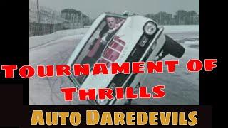 1970 TOURNAMENT OF THRILLS AUTO DAREDEVILS  B.F. GOODRICH LIFESAVER RADIAL TIRE PROMO FILM JC10174
