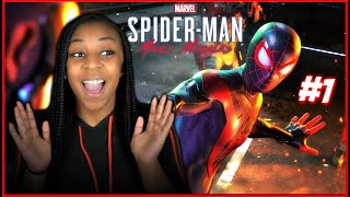 THIS GAME IS SO AMAZING!!! | Marvel's Spider-Man: Miles Morales PS5 Gameplay!!! | Part 1