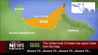 The United Arab Emirates has wiped Qatar from the map.