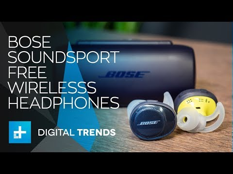 Bose SoundSport Free Fully Wireless Headphones - Hands On Review