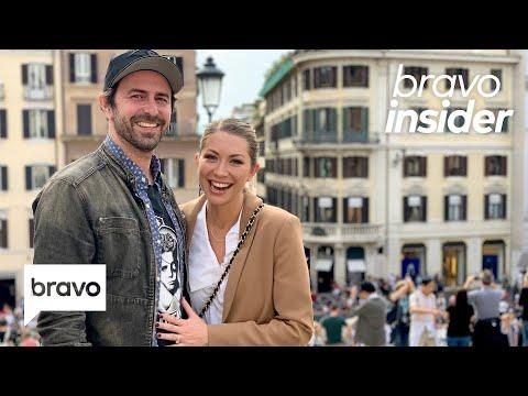 Stassi Schroeder and Beau Clark Go Wedding Venue Shopping in...Rome!   Bravo Insider