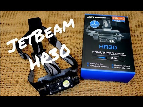 JETBEAM HR30 HEADLAMP REVIEW