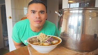 How to make Authentic BUN BO HUE (Spicy Central Vietnamese Noodles)