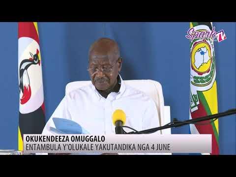 Pulezidenti Museveni alungamizza ku kwetangira COVID-19