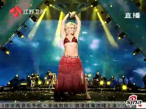 Shakira - Ojos asi   2010-2011 @China Año Nuevo