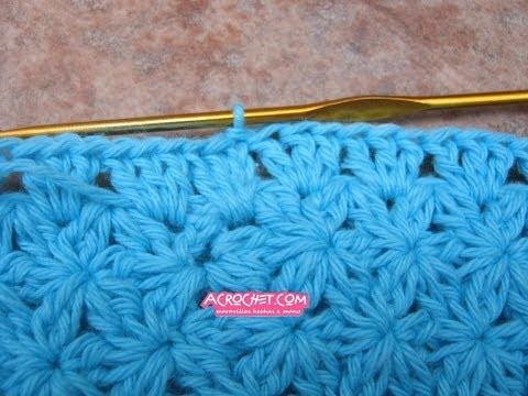 Punto Margherita Alluncinetto Daisy Stitch Crochet Youtube Download