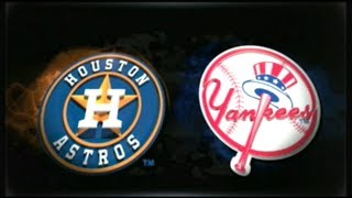 MLB 15 THE SHOW_ASTROS AT YANKEES (2018) GM # 40