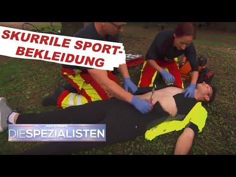 Völlig überhitzt: Jogger trägt Neoprenanzug | Auf Streife - Die Spezialisten | SAT.1 TV