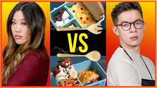 LUNCH BOX CHALLENGE!?   Cook That w/ Motoki Maxted & Amy Lee