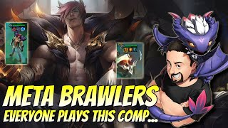 The Most Meta Comp - 6 Brawlers and Ashe! | TFT Fates | Teamfight Tactics