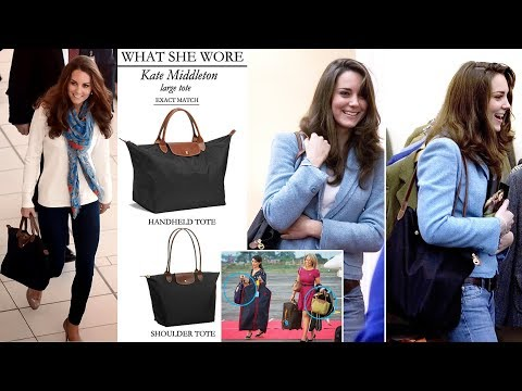 Kate's Love of Longchamp Tote Bags Basically Makes Her the Most Relatable Royal Ever