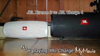 jbl xtreme 2 vs charge 4 bass test - TH-Clip