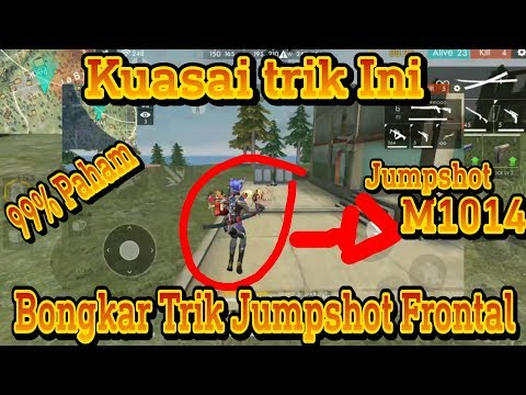 Tutorial Jump shot Frontal Gaming !! Tips & Trik Shotgun - Garena Free Fire