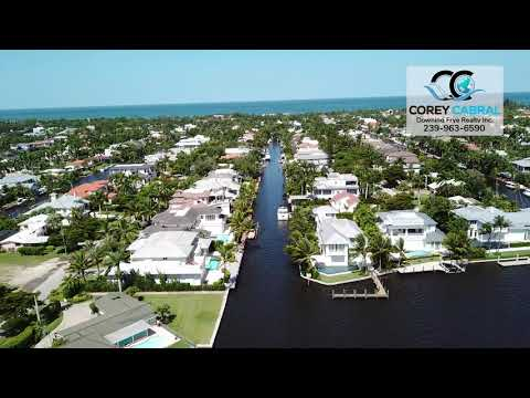 Aqualane Shores Bittern Channel Waterway Real Estate in Naples, Florida