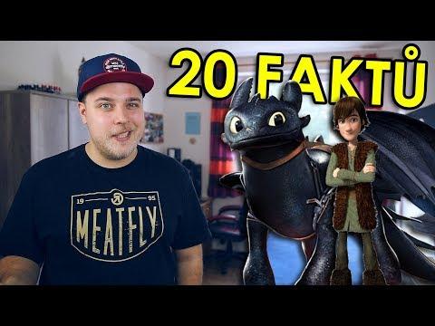 20 FAKTŮ - Jak vycvičit draka